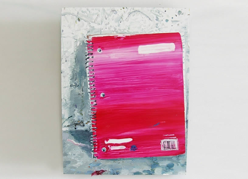 Notebook painting by Hilary Doyle