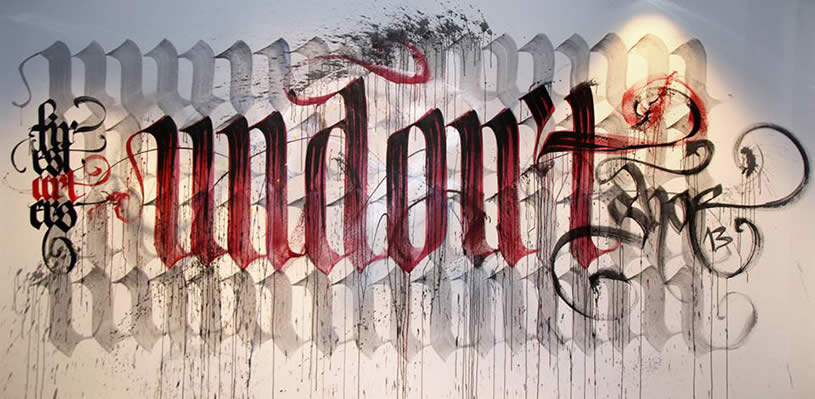 Calligraphy by Niels Shoe Meulman