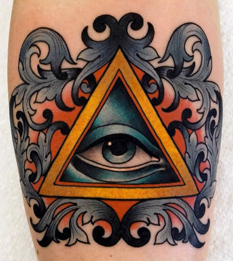 All seeing eye of god tattoo by Xam the Spaniard