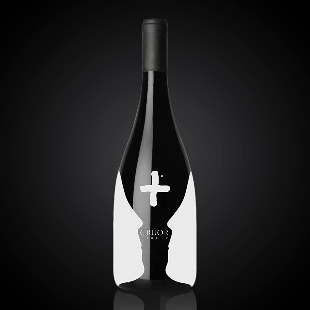 Cruor Barolo Wine Bottle by Audric Henri Dandres