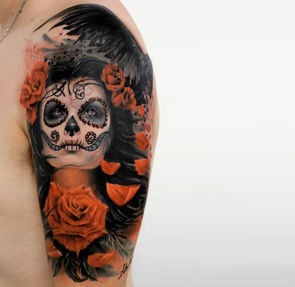 Tattoos from Acclaimed Artist Alex de Pase