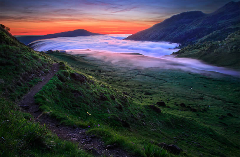 Stunning landscape photo by Florent Courty