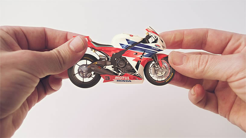 Motorcycle, Honda Hands