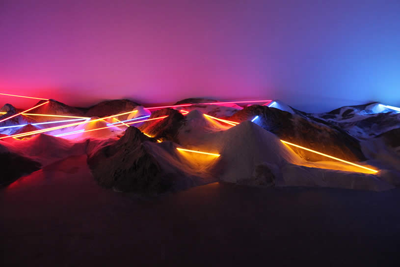 Light installation by Laddie John Dill 5