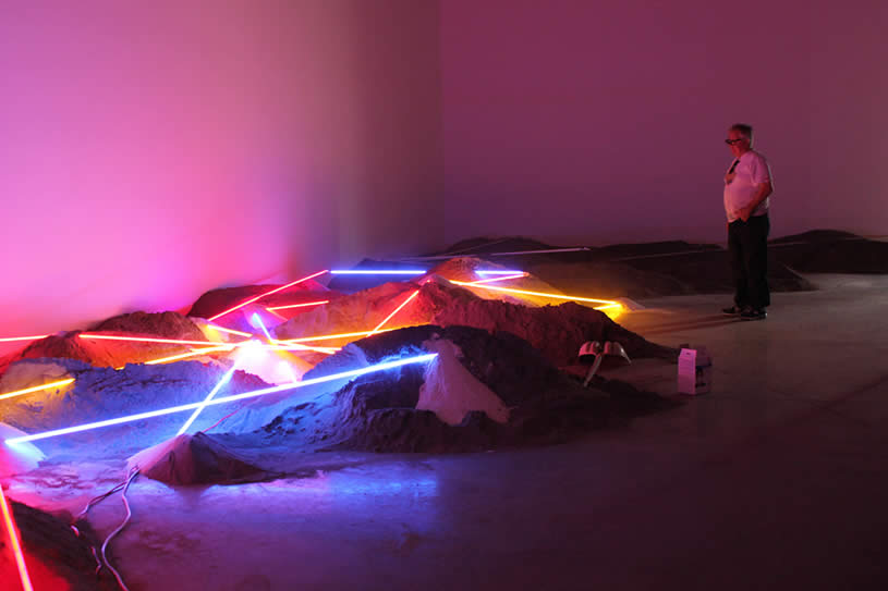 Light installation by Laddie John Dill 2