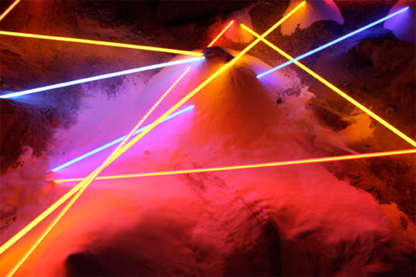 Light installation by Laddie John Dill 6