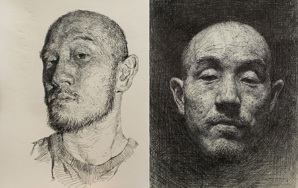 Drawing by Seong Jin Kim 4