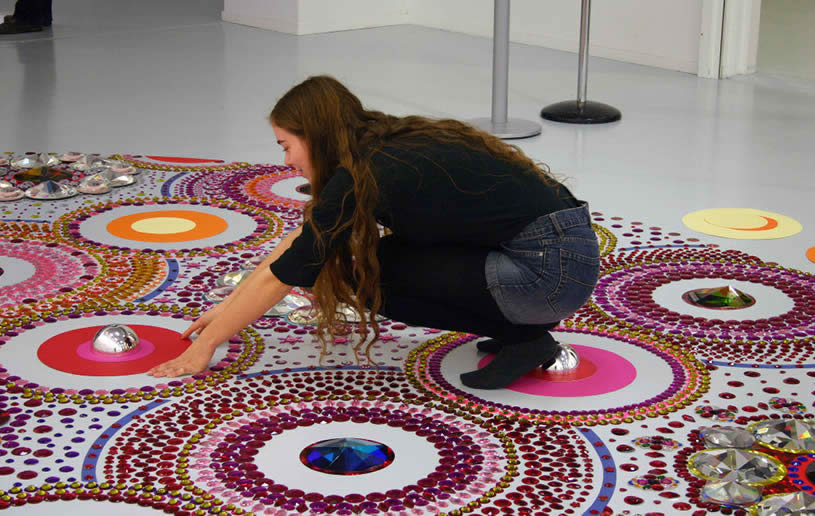 Floor art by Suzan Drummen 3