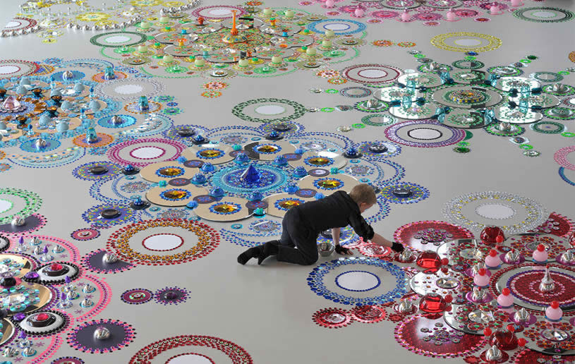 Floor art by Suzan Drummen 5