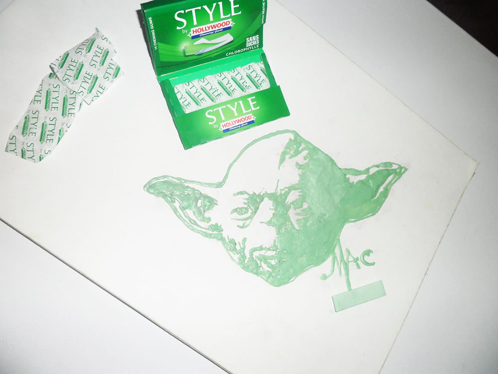 Yoda (Food art) by Vivi Mac