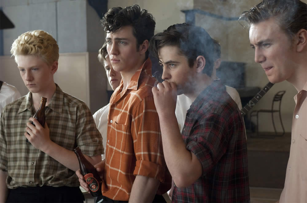 A film still from 'Nowhere Boys'