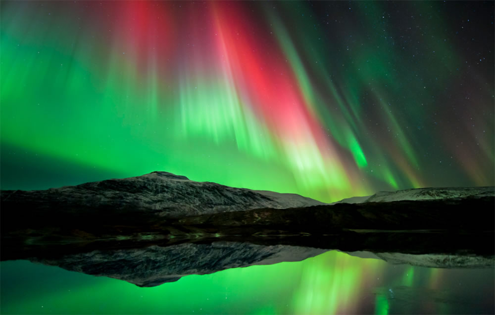Photo of aurora in Norway by Tommy Eliassen