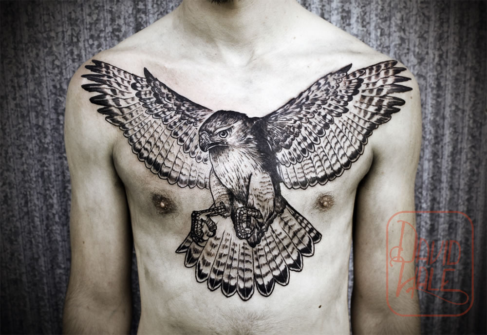 Tattoo's from Love Hawk Studio
