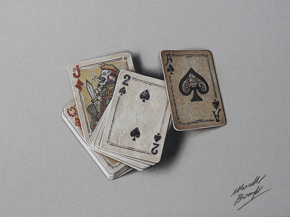 Playing cards by Marcello Barenghi