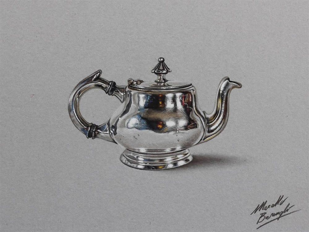 tea kettle by Marcello Barenghi