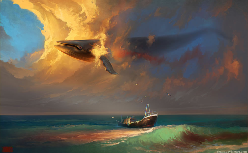 Speed painting by RHADS  5
