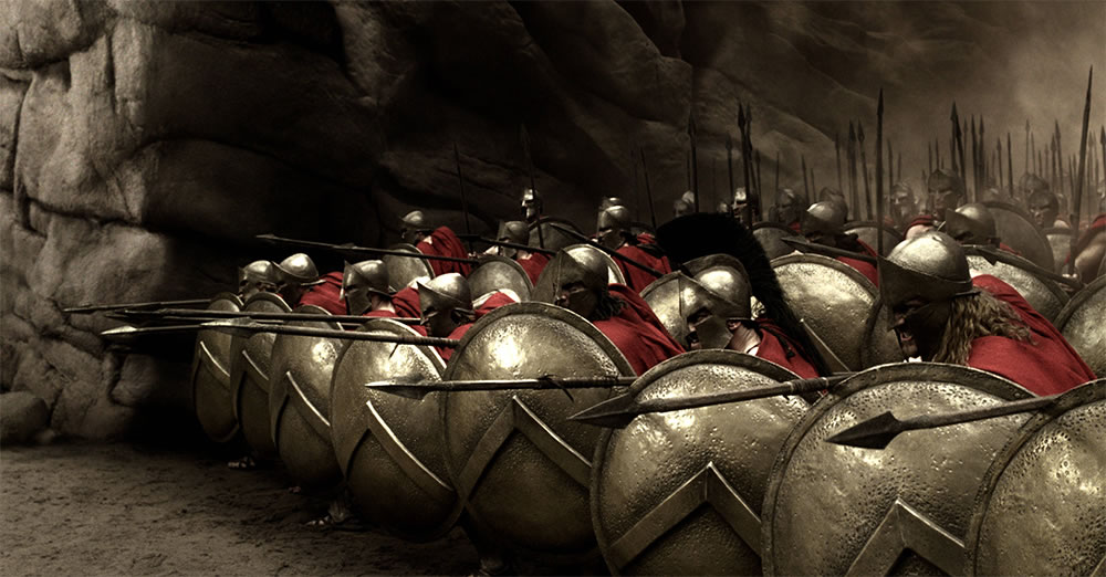 300 soldiers, movie