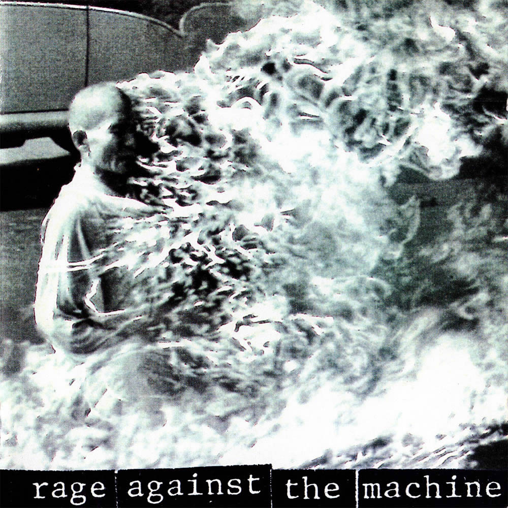 """Rage Against the Machine,"" Photo by Malcom Browne, 1992."
