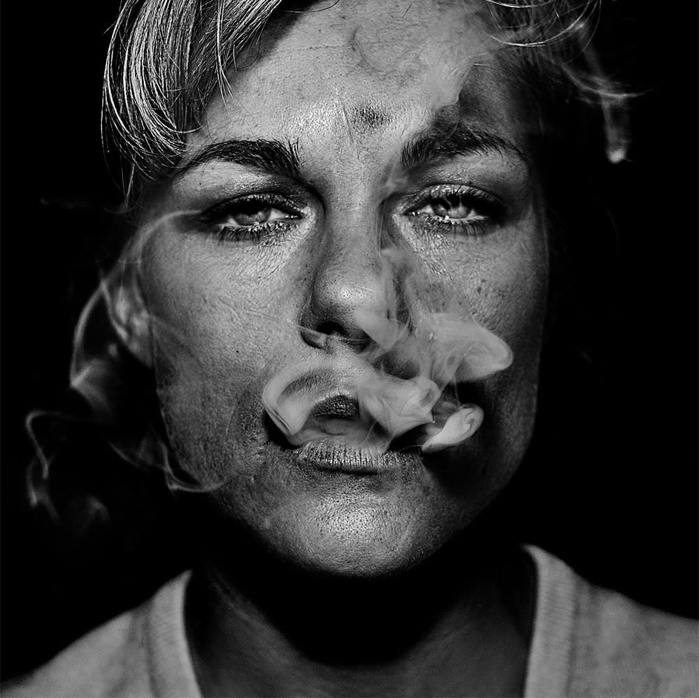 Photo of smoker by brett walker
