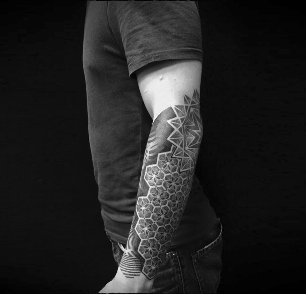 Patterned Tattoos from Russia