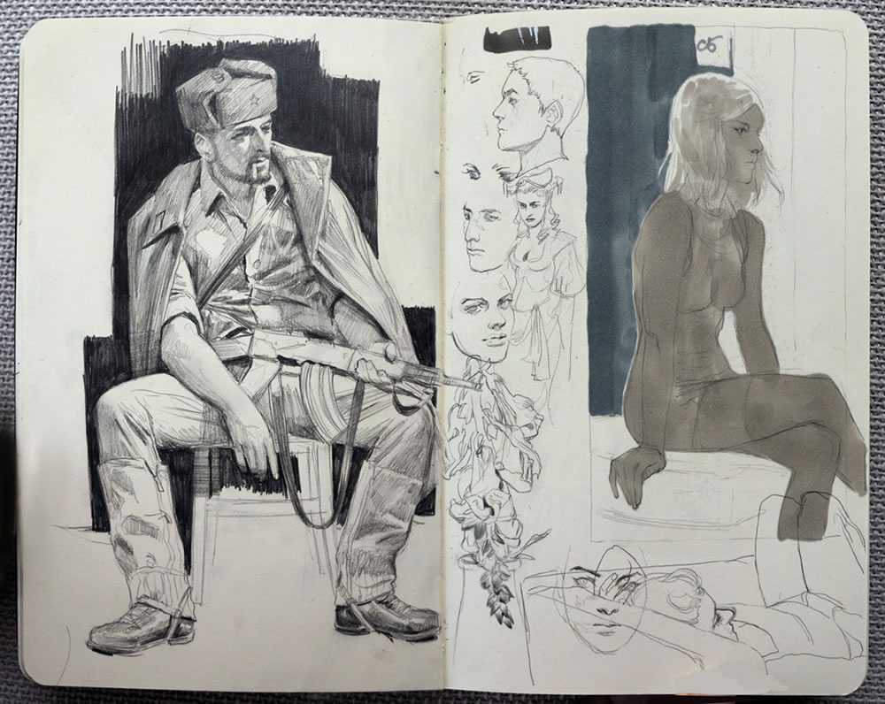 Sketchbook art by Jana Schirmer