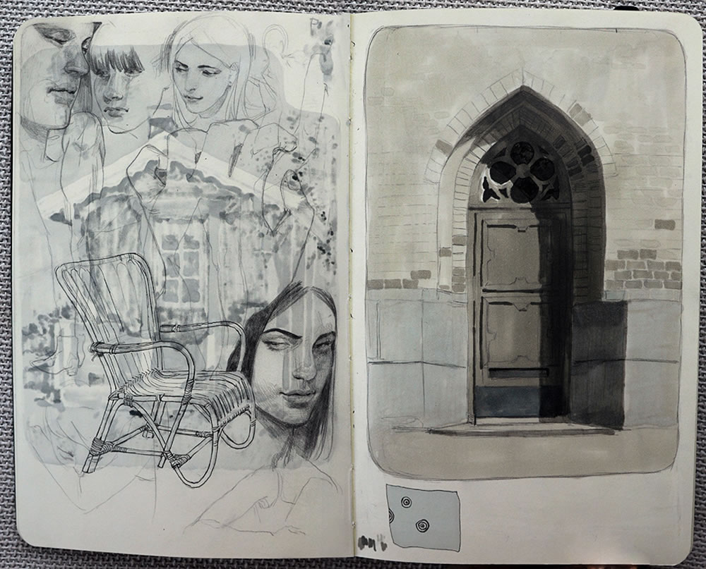 sketchbook art 2 by Jana Schirmer
