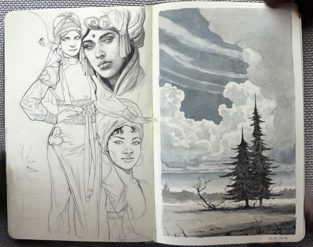 sketchbook art 3 by Jana Schirmer