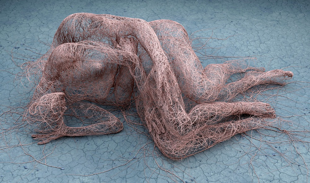 digital art, nude bodies by Adam Martinakis