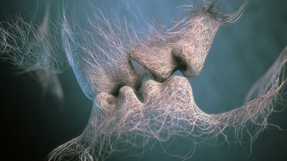 the kiss by Adam Martinakis