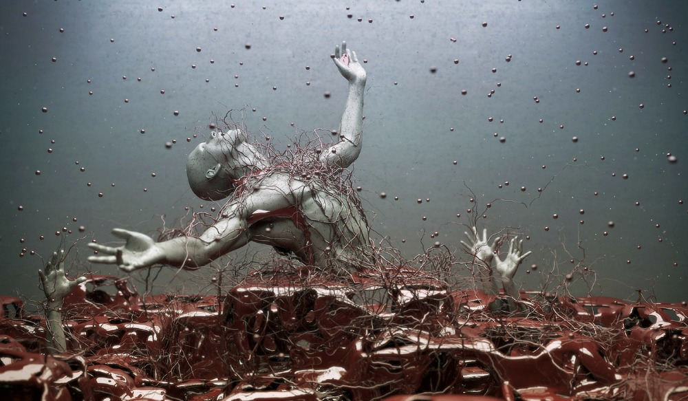 digital art man by Adam Martinakis