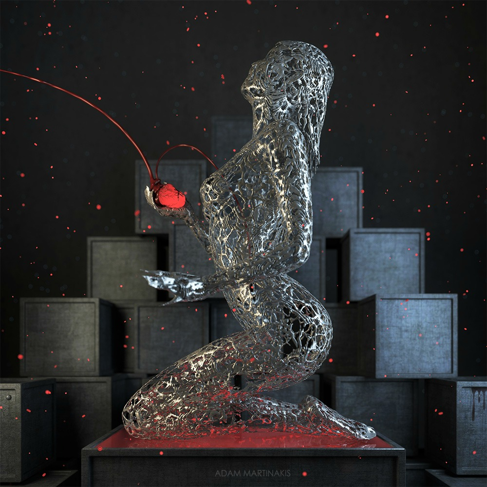 Digital Art  3-D  Adam Martinakis
