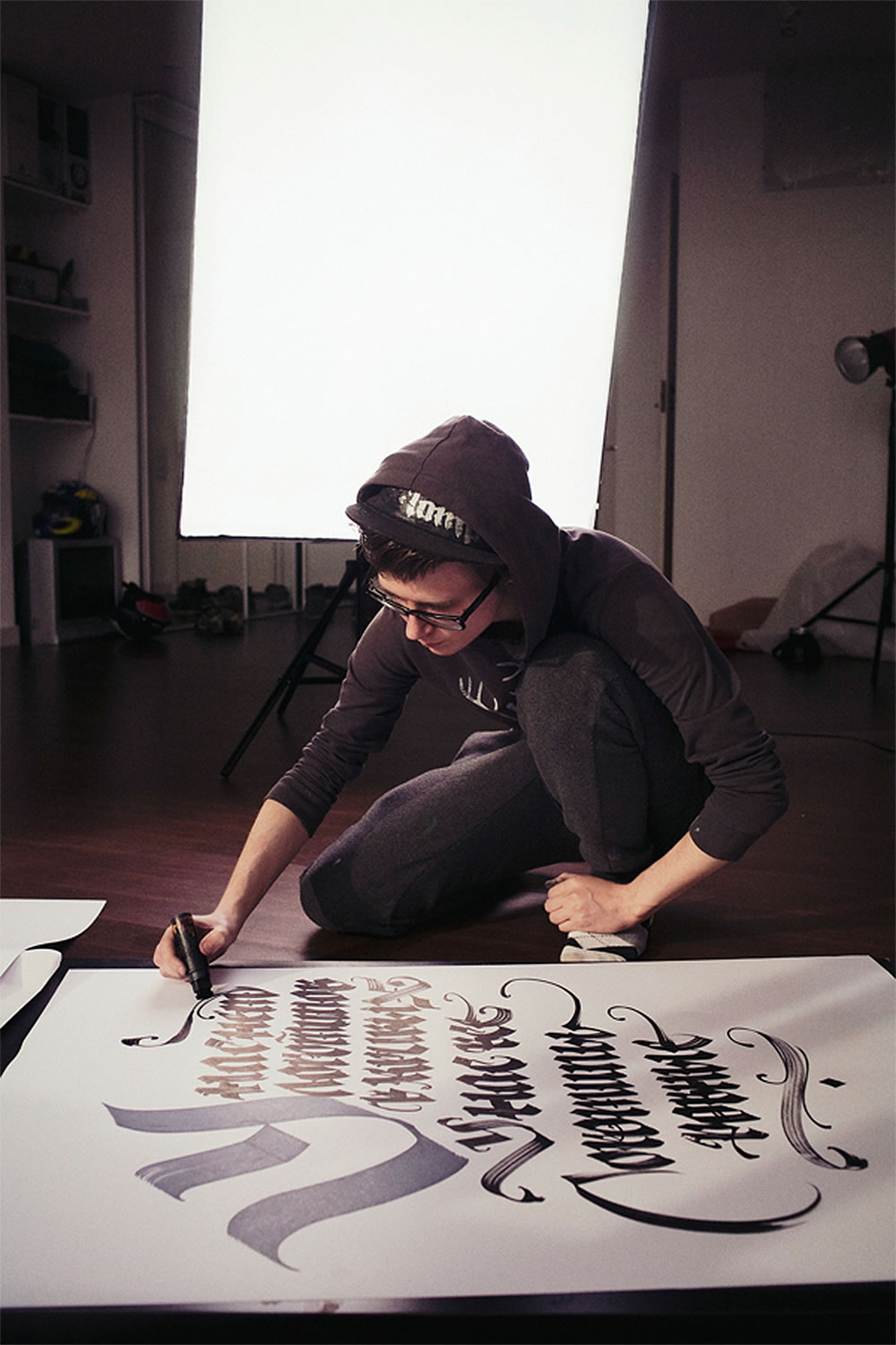 A Passion for Calligraphy