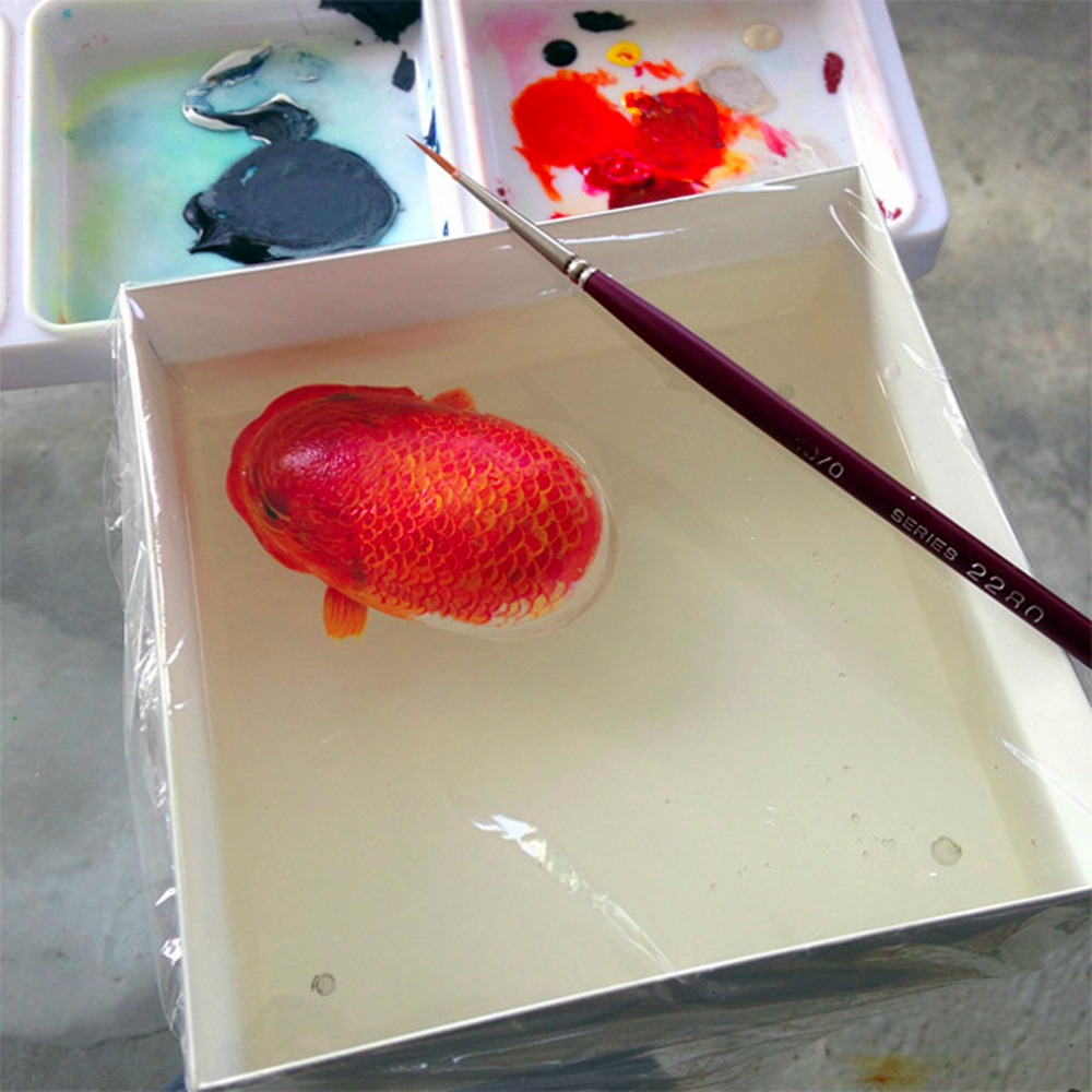 keng lye resin painting
