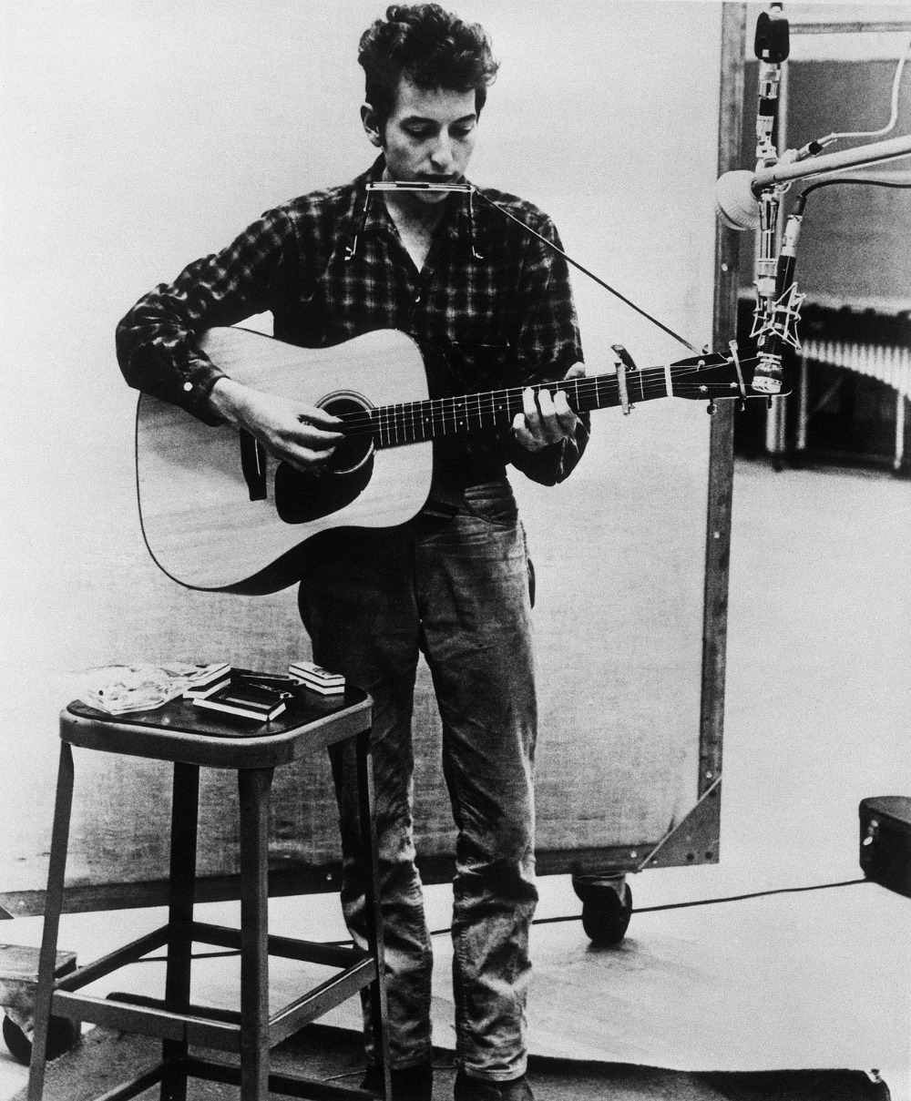bob dylan iconic black and white photography