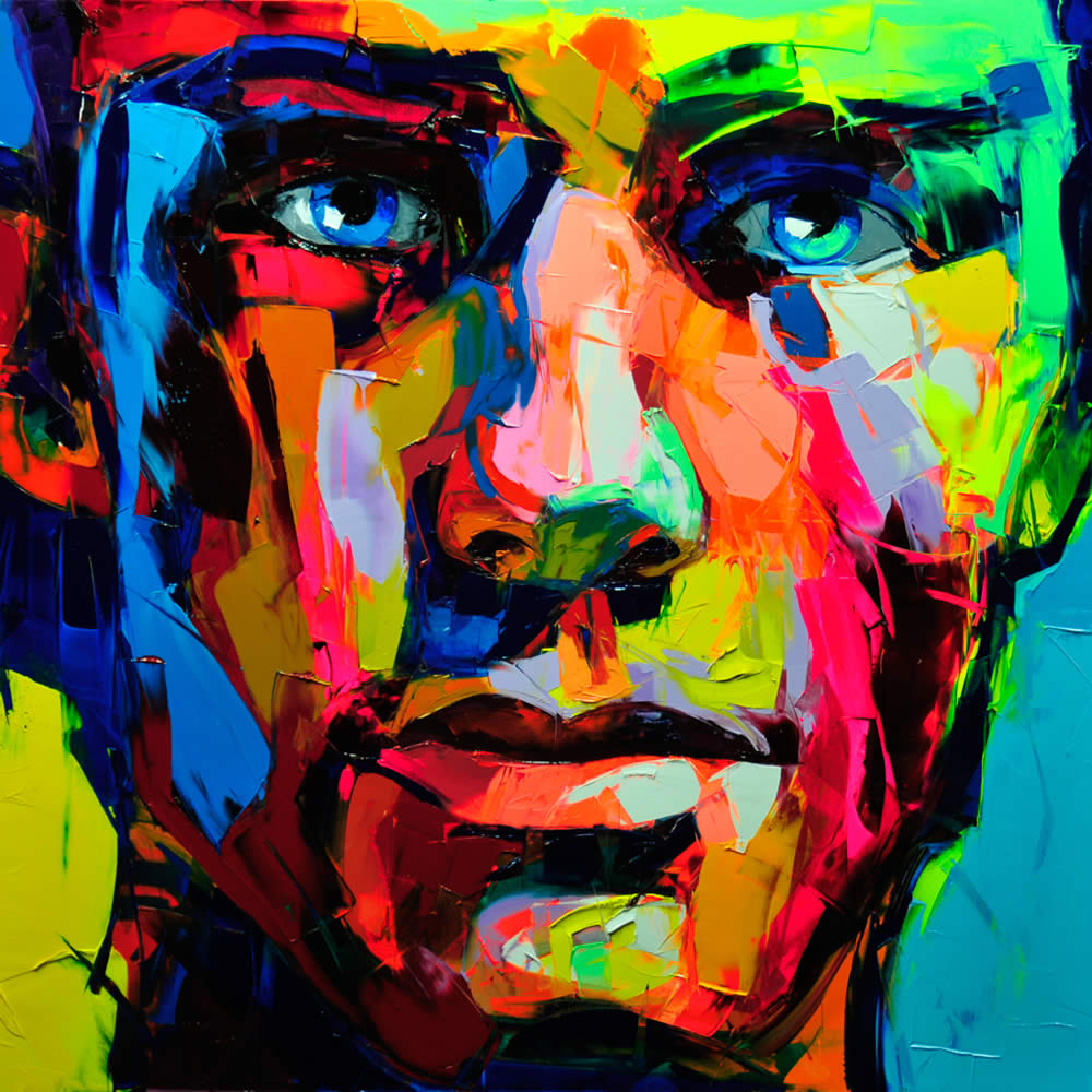 Palette Knife Painting by Nielly Francoise