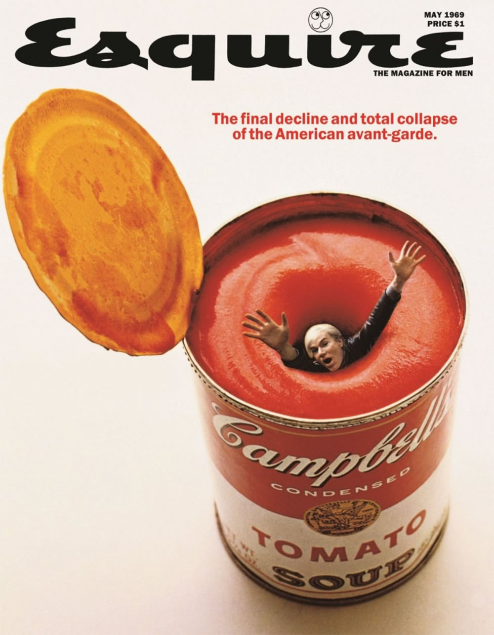 warhol on esquire mag cover, suicide soup