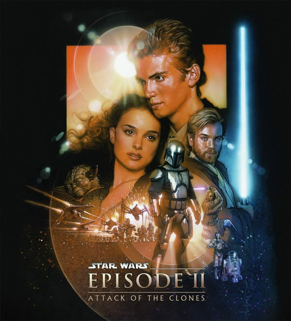 """""Star Wars: Episode II - Attack of the Clones"" (2002)."