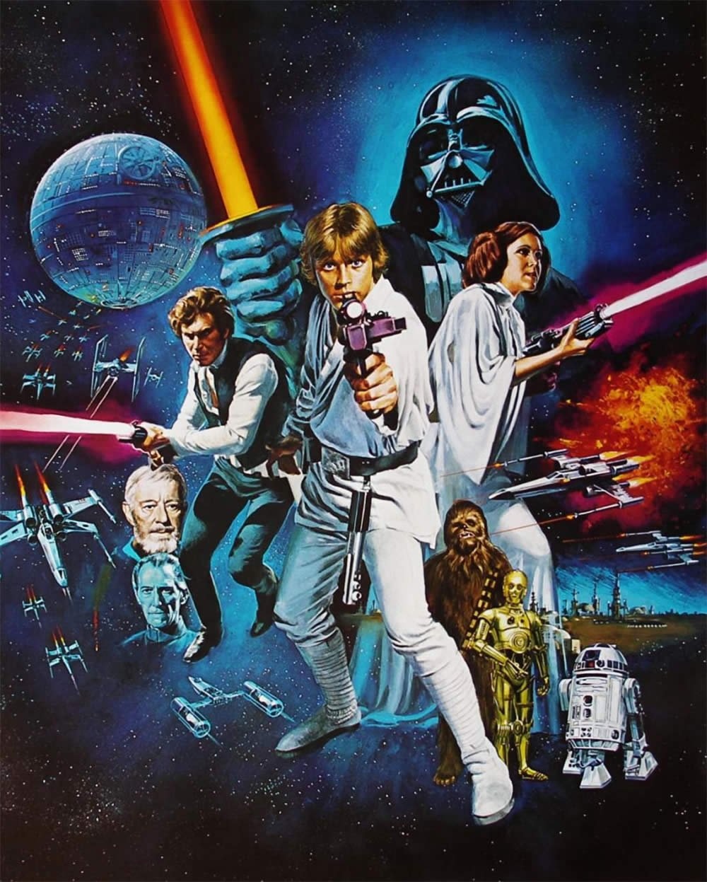 """Star Wars: Episode IV – A New Hope"" (1977)."