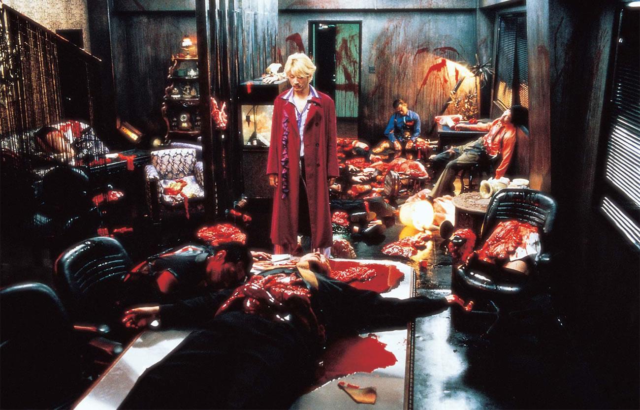 ichi the killer, blood bath