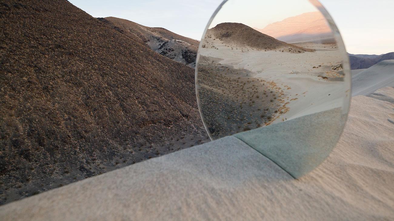 mirror reflection landscape