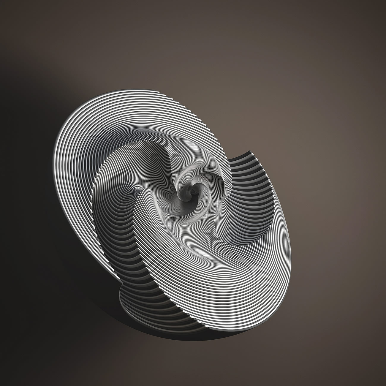 3-d sculpture shell digital