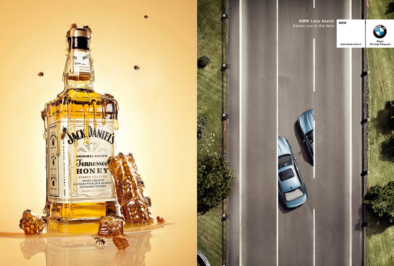 honey whiskey and bmw lane assist by Emre Gologlu