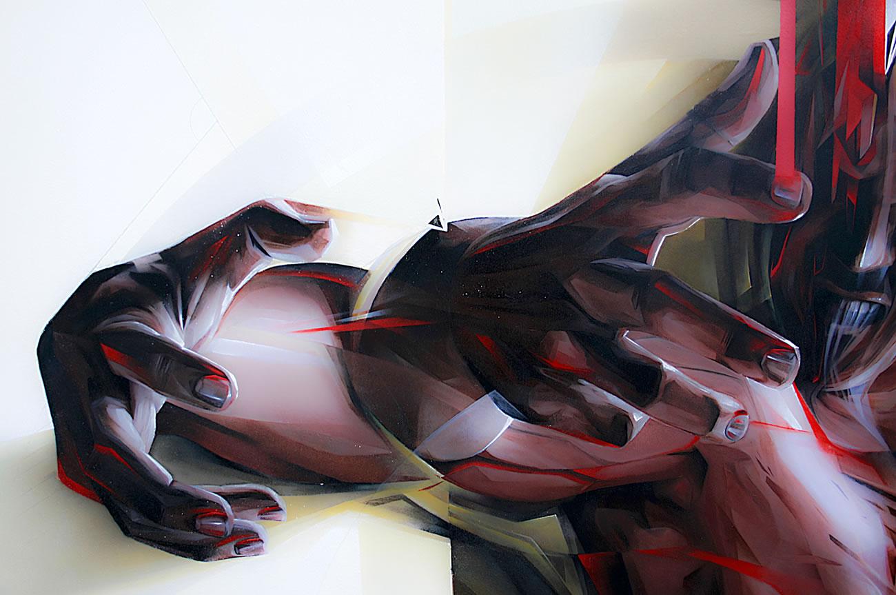 hands painted by vesod