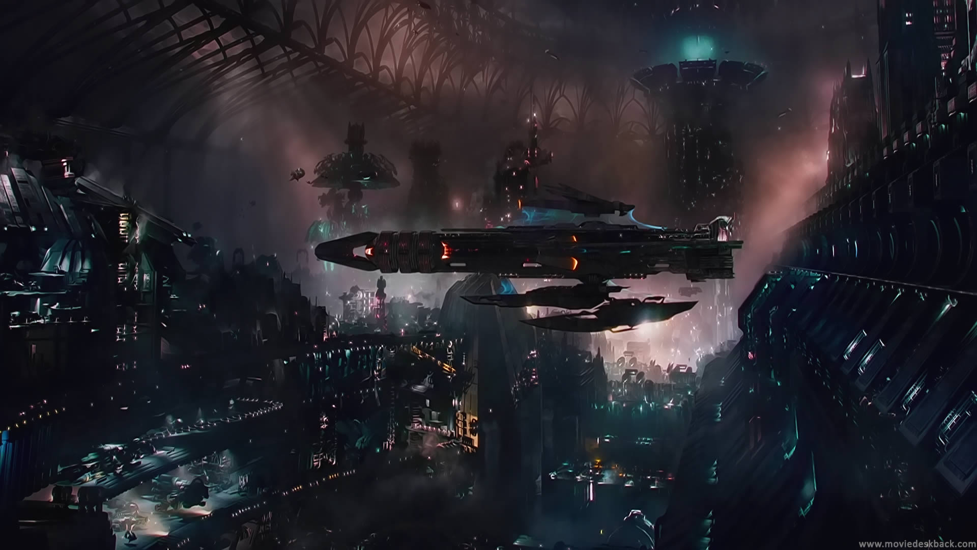 jupiter ascending space scene