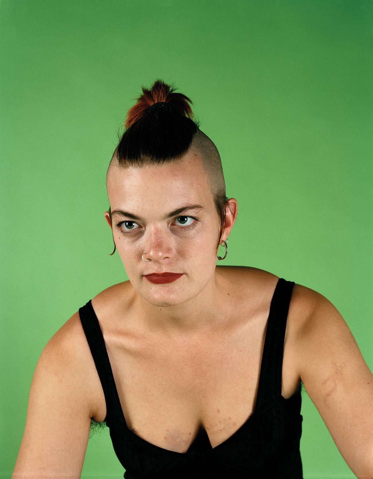 catherine opie self portrait