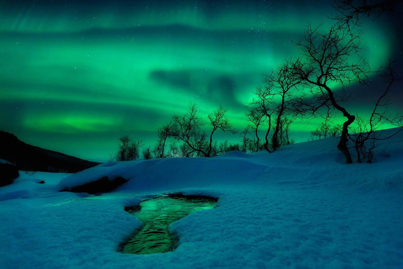 arild heitmann northern lights sky