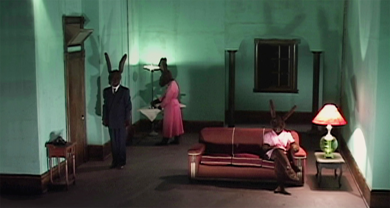 david lynch rabbits surreal inland empire