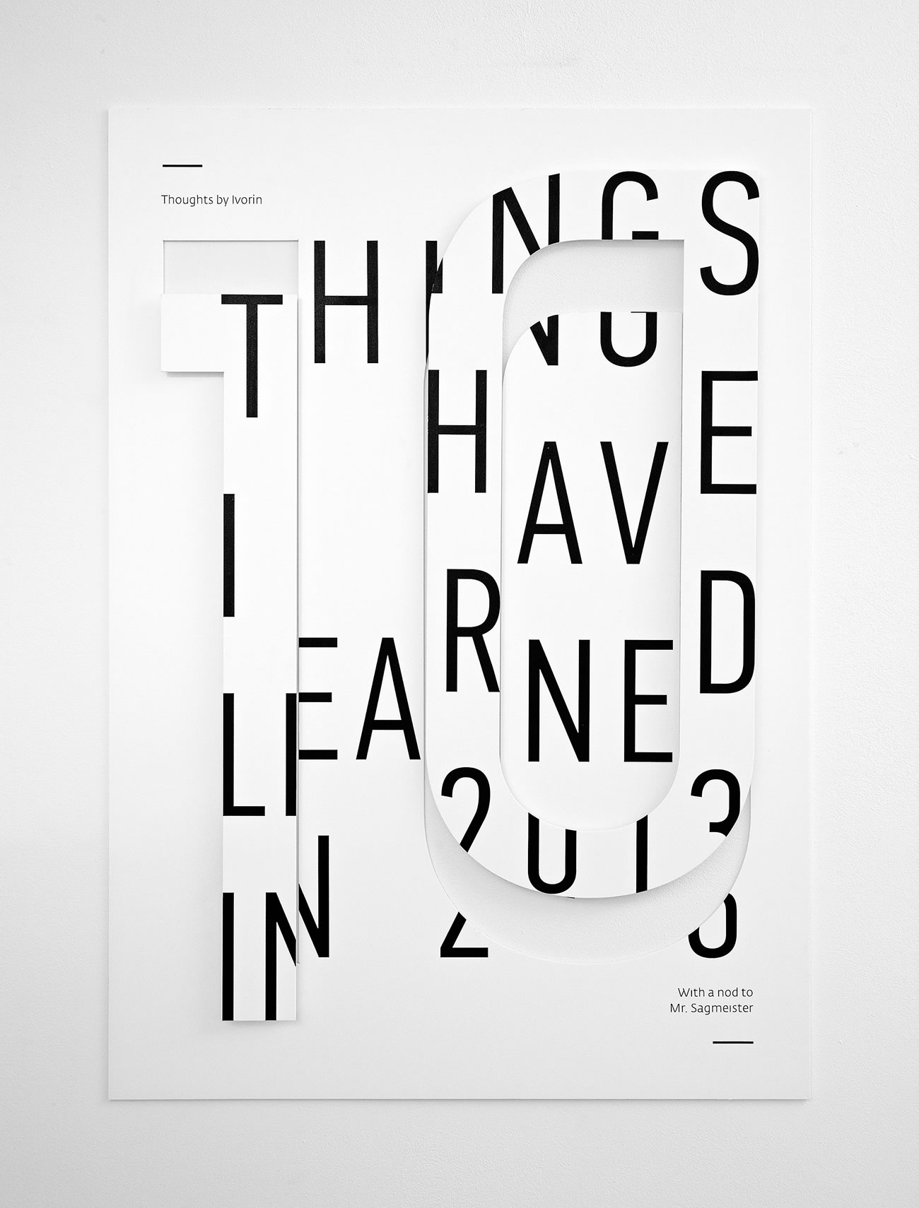 10 things I have learned in 2013 by Ivorin Vrkas