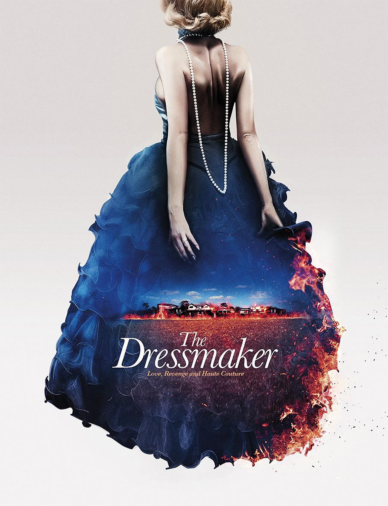 "Scott Woolston's poster ""The Dressmaker"" was created for the Cannes Film Festival 2013."