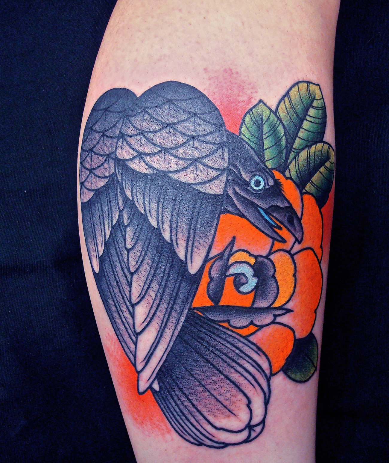 Fresh Old-School Tattoos by Javier Rodriguez